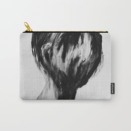 Surreal Distorted Portrait 04 Carry-All Pouch