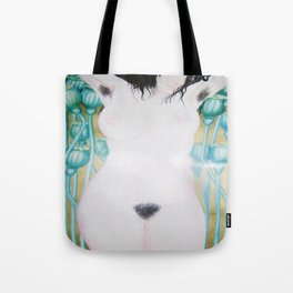 Poppy Goddess Tote Bag