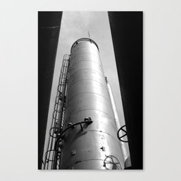 Gasworks Silo Canvas Print