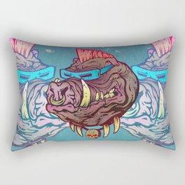 Mutant Hog Rectangular Pillow
