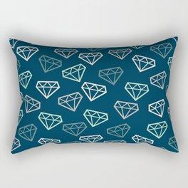 Shine Bright Like a Diamond - Neutral Rectangular Pillow