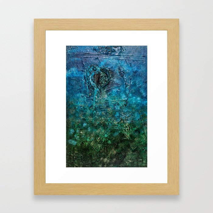 Personifications of the Mind Landscape Framed Art Print