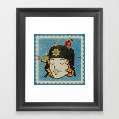 Marge Framed Art Print