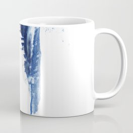 Blue abstract nr1 Coffee Mug