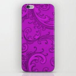 Dazzling Violet Swirls iPhone Skin