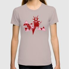 evil wizard with his bird X-LARGE Cinder Womens Fitted Tee