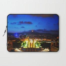Barcelona. Montjuik Laptop Sleeve