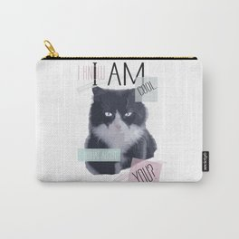I know I am cool. What About You? Carry-All Pouch