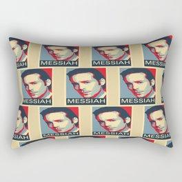 Baltar 'Messiah' design. Inspired by Battlestar Galactica. Rectangular Pillow