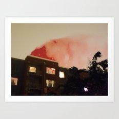 FIRE FIRE FIRE Art Print