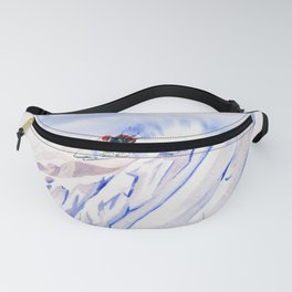 Powder Skiing Fanny Pack