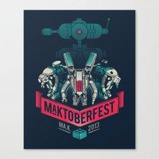 MaKtoberfest 13 Canvas Print