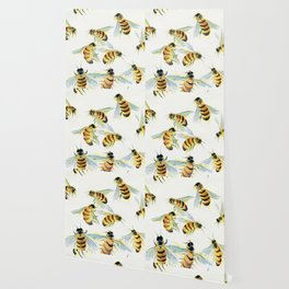 All About Bees Wallpaper