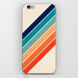 Karanda - 70s Style Classic Retro Stripes iPhone Skin