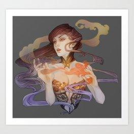 Spellweaver Art Print
