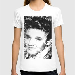 ELVIS (BLACK & WHITE VERSION) T-shirt