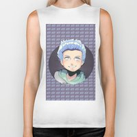 ed sheeran Biker Tanks featuring ED by EY Cartoons