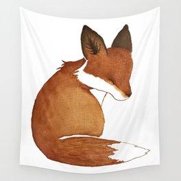 Resting Fox Wall Tapestry