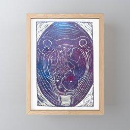 Womb Framed Mini Art Print