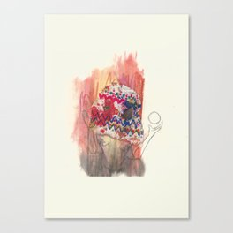 Shaman Lady Canvas Print