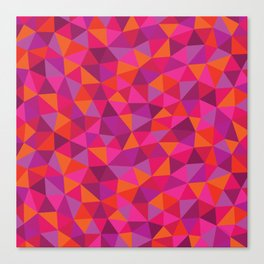 Prismatic Pattern Canvas Print