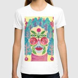 Garden Face T-shirt