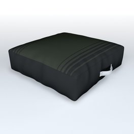 Deep Forest Horizontal Gradient Outdoor Floor Cushion