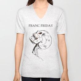GRILLD - FRANC FRIDAY Unisex V-Neck
