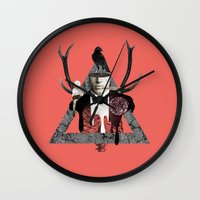 death Wall Clocks featuring Death by Repulp