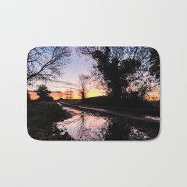Dawn on the Lane Bath Mat