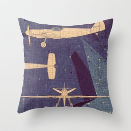 Aero Throw Pillow