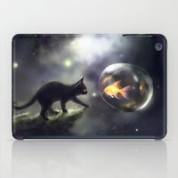 the thing iPad Cases featuring mutual thing by apofiss