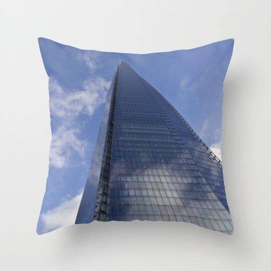 The Shard London Throw Pillow