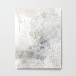 Embroider Me Metal Print