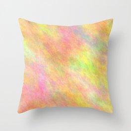 Burlywood Color Throw Pillow