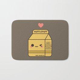 Kawaii Hufflepuff Bath Mat