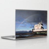 homer Laptop & iPad Skins featuring Homer, Alaska by Chris Rod