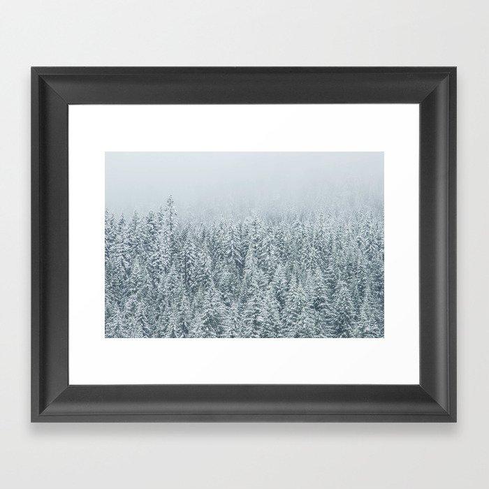 Winter Wonderland Gerahmter Kunstdruck