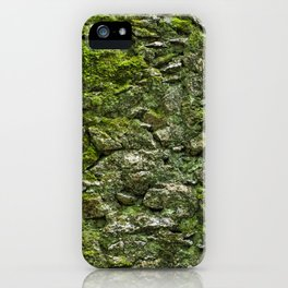 Green wall iPhone Case