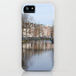 Canals of Amsterdam iPhone Case