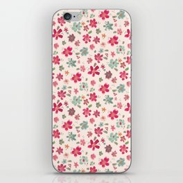 flowery spring iPhone Skin