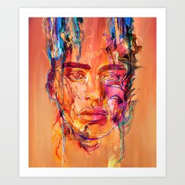 Being Here Art Print