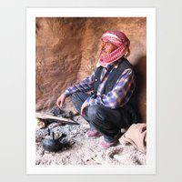 Bedouin Art Print
