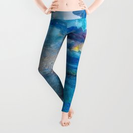 Save The Oceans, Cabo Beaches 2 Leggings