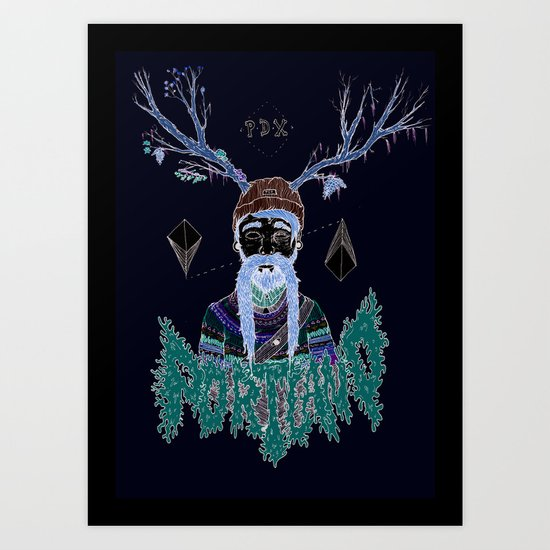 PORTLAND I Art Print