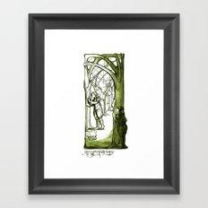 As You Like It - Rosaline -  Shakespeare Illustrations Framed Art Print