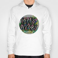 numbers Hoodies featuring Numbers! by gasponce