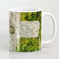 religious Mugs featuring Religious Statue by Michael Moriarty Photography