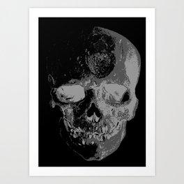 skullX Art Print