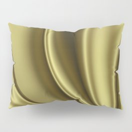 Abstract Fractal Colorways 02 Simple Gold Pillow Sham